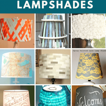 29 creative DIY lampshades