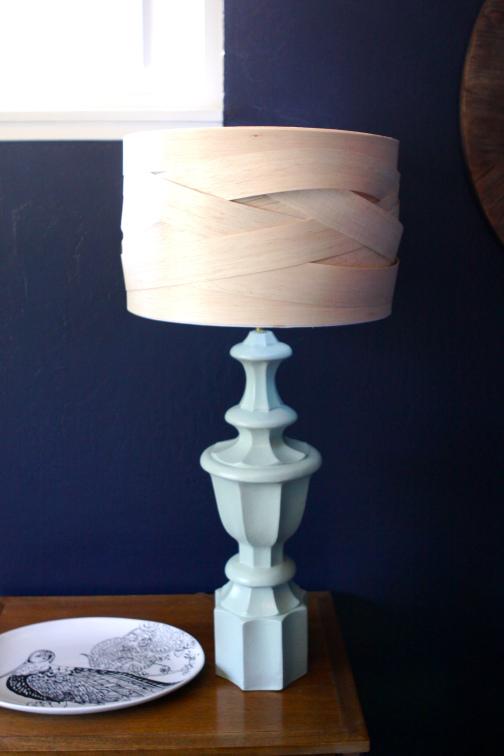 balsa wood lampshade