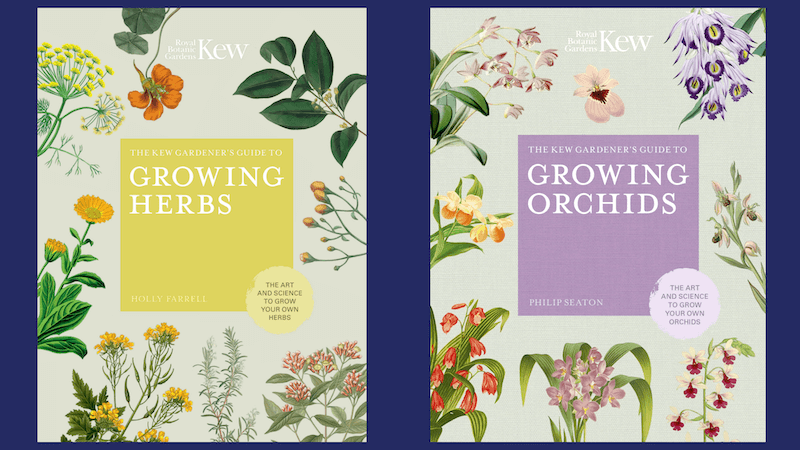 Kew Gardener's Guide to Growing Herbs and Orchids books