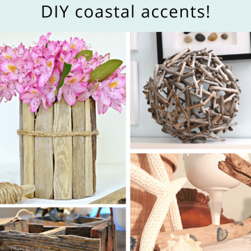 DIY Driftwood projects for coastal decor