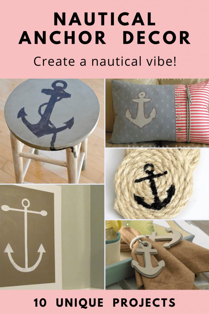 Nautical Anchor Decor tutorials