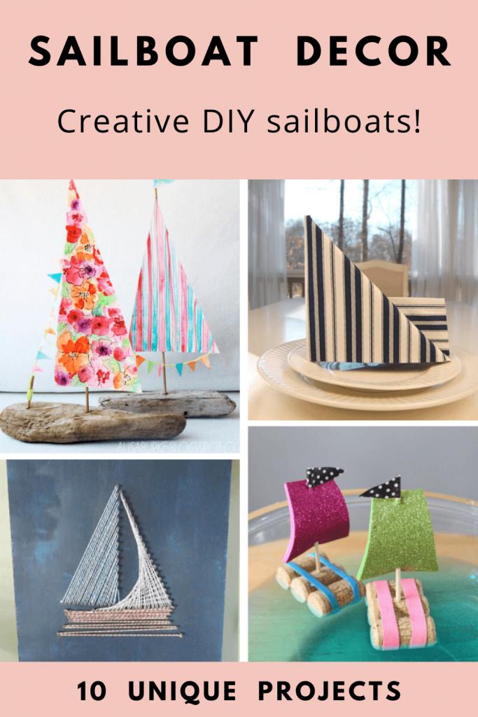 DIY Sailboat projects for coastal decor