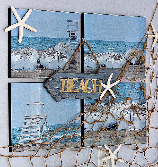 DIY Nautical Rope Fishnet with Jute Twine